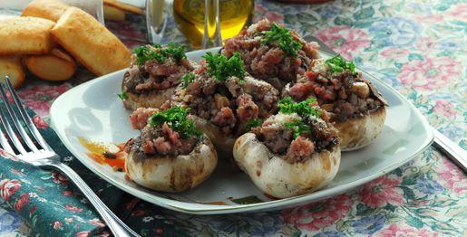 Ricetta champignon brasati - Come cucinare champignon ...
