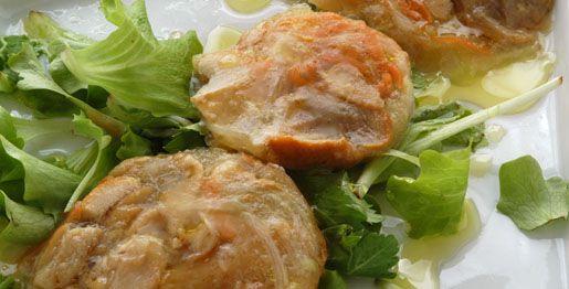 Gelatine di finferli e verdure