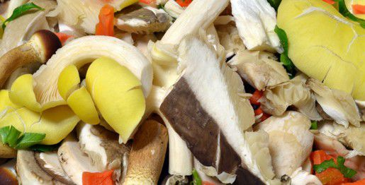 Gnocchetti di carote con funghi misti