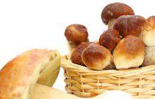 Crespelle alla crema di funghi porcini