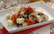 Ovoli e porcini in insalata