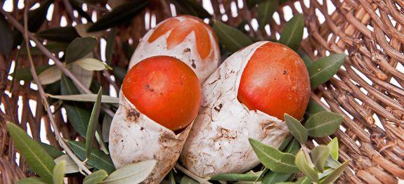 Pasticcio di ovoli e patate