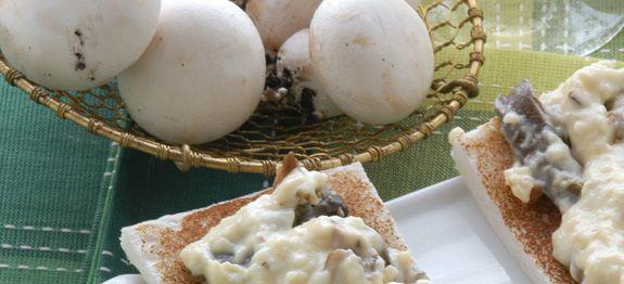Ricetta canap ai funghi champignon - Come cucinare champignon ...