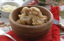 Champignon fritti alle acciughe