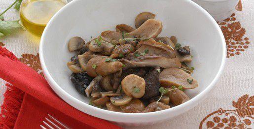 Porcini e champignon alle erbe