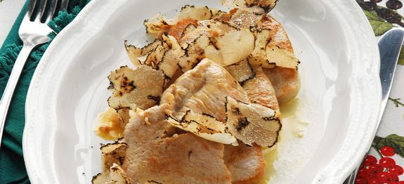 Scaloppine al tartufo