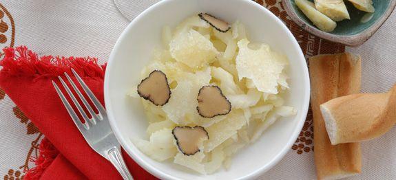 Sedano bianco al tartufo e grana