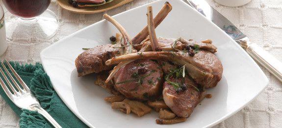 Ricetta Capriolo Al Forno Con Porcini Cucinarefunghi Com