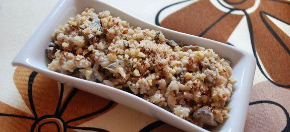 Ricetta Orzo Cotto Con Funghi E Nocciole