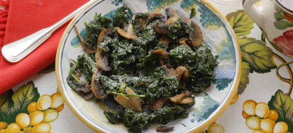 Spinaci e champignon
