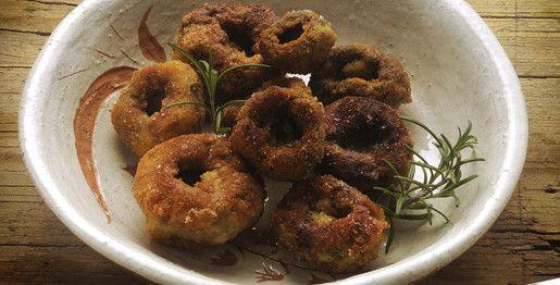 Champignon fritti
