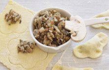 Pilz Füllung für Tortellini und Ravioli