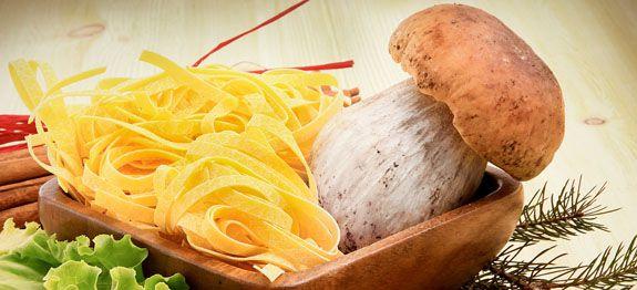 Come cucinare tagliatelle ai funghi porcini
