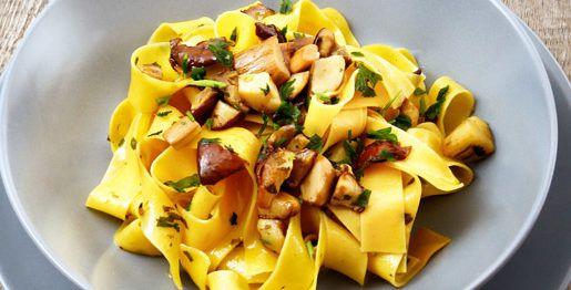 Come cucinare tagliatelle ai funghi porcini surgelati